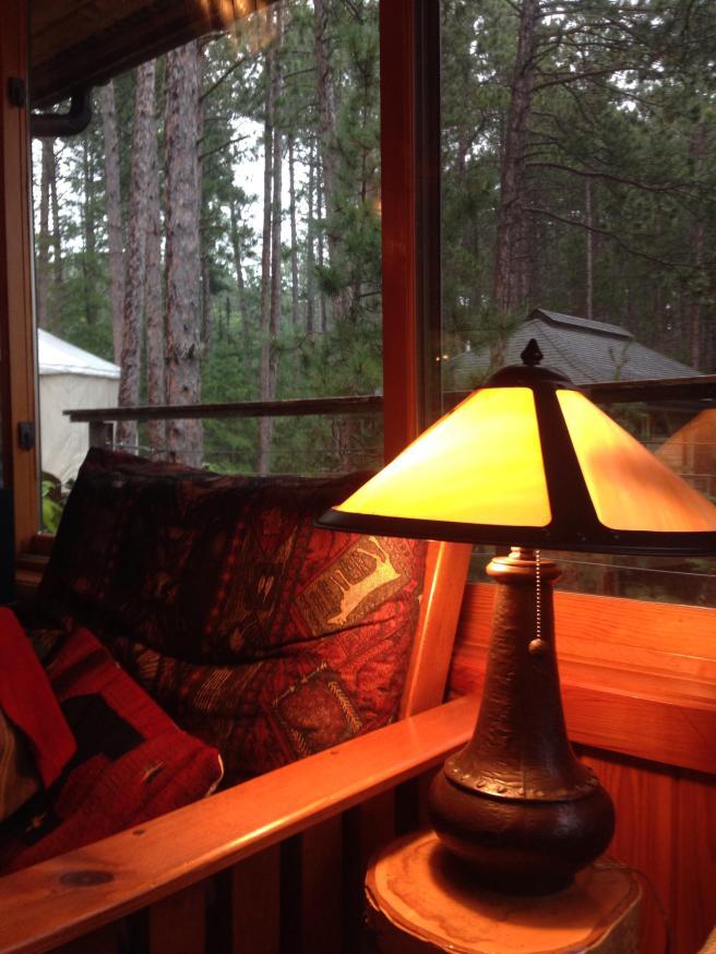 blog pic for bev - orange couch